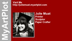 Julie Muat's business card