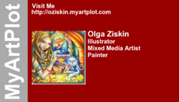 Olga Ziskin's business card