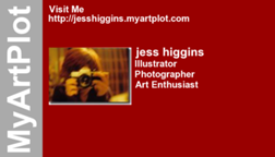 jess higgins's business card