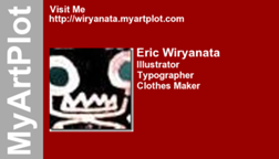 Eric Wiryanata's business card