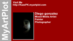 Diego gonzalez's business card